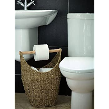 Store Seagrass Loo Roll Small Amazon Co Uk Kitchen Amp Home
