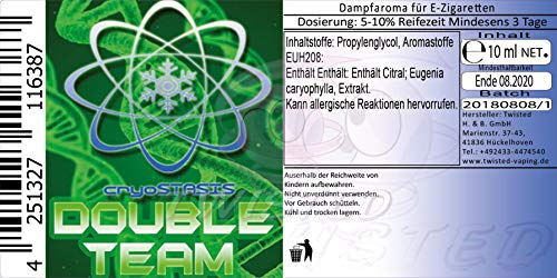 Cryostasis Aroma Double Team 10ml