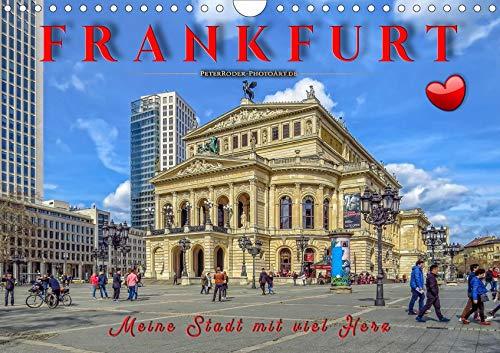 Frankfurt - meine Stadt mit viel Herz (Wandkalender 2020 DIN A4 quer): Frankfurt, pulsierende Metropole und liebenswerte Stadt. (Monatskalender, 14 Seiten ) (CALVENDO Orte)