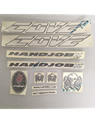 Cove Handjob XC Replacement Frame Decal Kit Sticker White Pre 2010