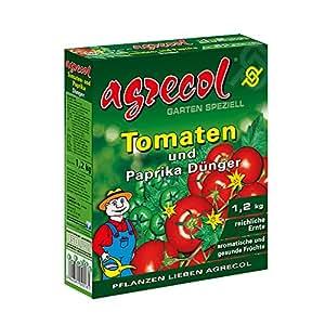 Premium Granulat Tomatendünger Paprikadünger Chilipflanzen Dünger - hochkonzentriert und hochergiebig - ausreichend für 60 Pflanzen