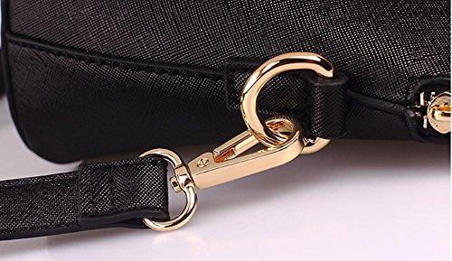 Piccola versione coreana del pacchetto donna, borsa a tracolla, borse, zaino obliqua, marea di piccolo pacchetto quadrato ( Colore : Vino rosso ) Vino rosso