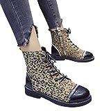 TianWlio Stiefeletten Schuhe Boots Stiefel Damen Herbst Winter Klassische Übergröße