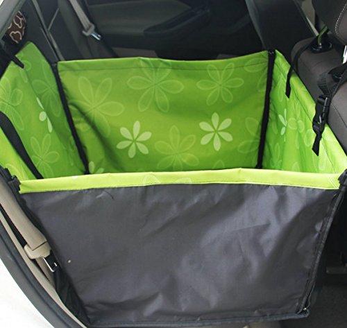 Yiyida Wasserdicht Grosser Sitzschutz Auto Hundedecke Kofferraumschutz, 2 in 1 Faltbar & Rutschfest Hund Vordersitz Matte Schutz Haustier Eimer Sitzbezug (Hunde Für Sitzbezüge Eimer)