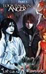 Look Back in Anger is a paranormal romance with shifters and zombies and lethal spray cheese!Sam can't remember much of being a child, but the scraps of memory she clings to all hold the same terror--Arles Colfter. Now he's blackmailing her, threaten...