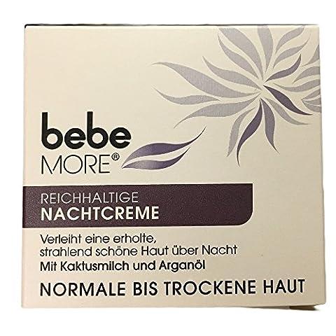 bebe More reichhaltige Nachtcreme normale bis trockene Haut (50 ml)