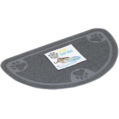 Me & My Pets - Vorleger für Katzentoilette - Grau - XL