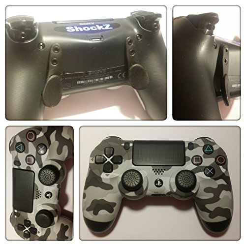 PS4 Controller - ShockZ Controller Umbau - Triggerstop - X&O Buttons - Paddel - Playstation 4 - Camo