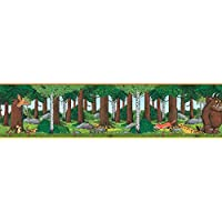 The Gruffalo The Self Adhesive Wallpaper Border 5m, Vinyl, Multi, 15 x 4 x 4 cm