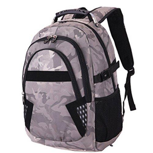 Business-Computer-Tasche Männer Und Frauen Bergsteigen Outdoor-Freizeit-Reisetasche,Gray Gray