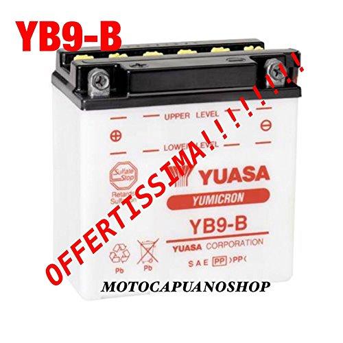 YUASA BATTERIA 12V 9 AH YB9-B perLIBERTY SCOOTER MOTO