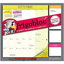 Frigobloc 2019 - Calendrier d'organisation familiale par mois: S'organiser n'a jamais été aussi simple !