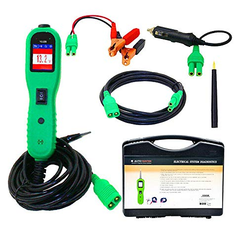 �fer Stromprüfkopf Kit, Auto Selbstdiagnosescan Tool mit Schalter, elektrischer Spannungsprüfer, LCD Farbdisplay, Digitale Spannungsmesswerkzeuge ()