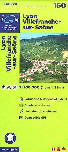 Lyon / Villefranche-sur-Saone ign (Ign Map) par Institut Geographique National