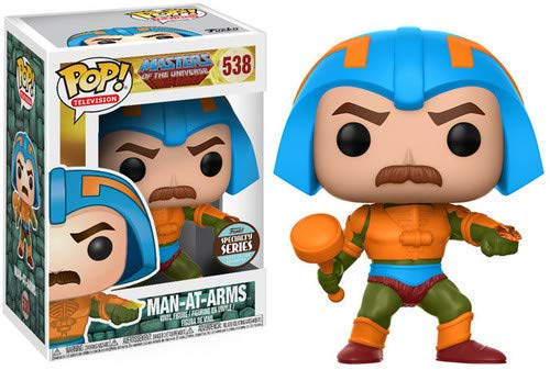 Figura POP! Master of the Universe Man-At-Arms Speciality Series Exclu