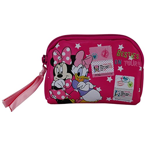 Disney Minnie und Daisy Duck Baby Girl Beutel Geldbörsen Federtasche Kosmetik Make-up Tasche Aufbewahrungstasche - Daisy Tasche Duck Make-up