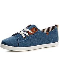 topschuhe24 1197 Damen Sneaker Slipper Turnschuhe Flats, Farbe:Weiß;Größe:37