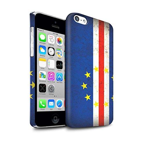 Clipser Matte Coque de Stuff4 / Coque pour Apple iPhone 6 / Tunisie/Tunisien Design / Drapeau Africain Collection Cap-Vert