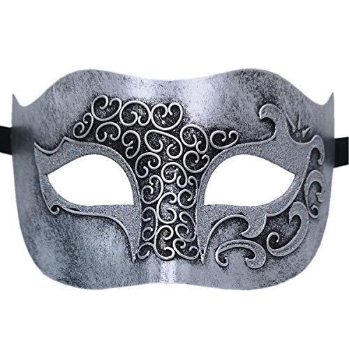 Ubauta Maskerade Maske für venezianische männer kostüm