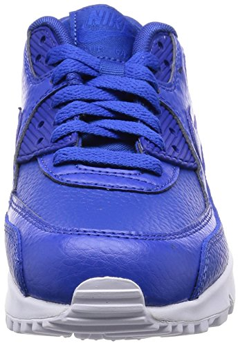 Nike Herren Air Max 90 Ltr (Gs) Low-Top Mehrfarbig (Game Royal/Game Royal-White)