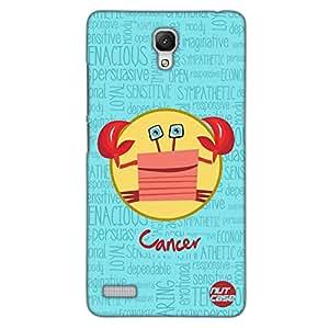 Designer Xiaomi Note 4G Case Cover Nutcase - - Star Signs - Cancer Blue