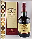 Redbreast 12 Jahre irischer Whiskey mit 9 DreiMeister Edel Schokoladen in 9 Geschmacksvariationen, kostenloser Versand