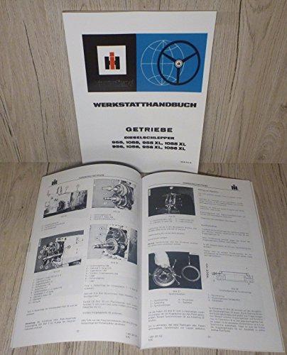 Preisvergleich Produktbild Werkstatthandbuch für IHC Schlepper Getriebe 955 + 956 + 1055 + 1056 und 955XL + 956XL + 1055XL + 1056XL