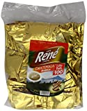 Café Rene Crème Guatemala Coffee Pads (Pack of 1, Total 100 Coffee Pads)