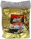 Café Rene Crème Guatemala Coffee Pads (Pack of 1, Total 100 Coffee Pads)