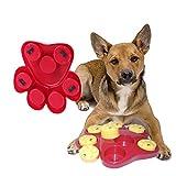 Owikar Paw cacher les friandises jouet pour animal domestique Chien lent Mangeoire Bol de nourriture pour chien qui Distribue l'Ennui Jeu interactif puzzle d'entraînement Finder Jouets au Permet d'éviter les ballonnements diarrhée Divertissants et Brain-engaging