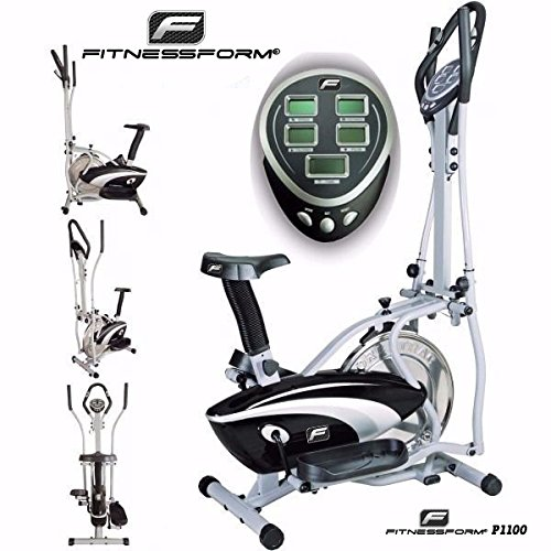Fitnessform-P1100-Cross-Trainer-2-in-1-Fitness-Elliptical-Exercise-Bike-New-Model