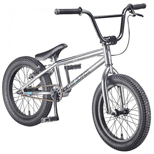 16 Zoll mafiabike BMX Bike BBKush verschiedene Farbvarianten , Farbe:chrom