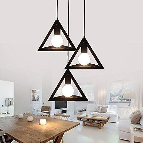 Nordic kegel Dreieck Kronleuchter, retro Industrie Bügeleisen, personalisierte Kreativ, einzelne