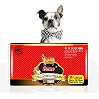 PetVogue Disposable Pet Diapers for Dogs -XL Size - 10 Pack