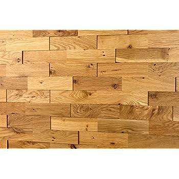 wodewa eiche rustikal astig holz wandverkleidung 1m 3d optik massivholzriemchen echtholz. Black Bedroom Furniture Sets. Home Design Ideas