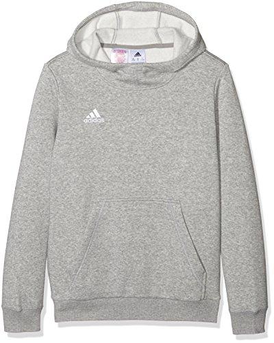 adidas Jungen Kapuzenpulli Core 15 Hoody Youth, grau/weiß, 116, AA2723 (Polo Hoody)