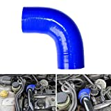 XuBa Hochfeste Ladeluftkühler Schlauch Diesel Booster Silikonschlauch für Ford Focus 1.8 TDCi MK1