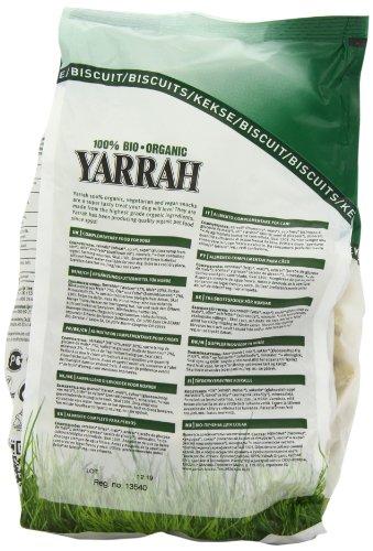 Yarrah Bio Hundesnack Vegetarische Kekse, 500 g, 2er Pack (2 x 500 g) - 4