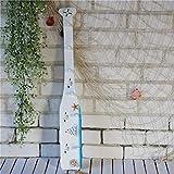 Eeayyygch Kleiderhaken kreative hängende Haken Mittelmeer Boot Zellstoffhaken Holz Paddel Wanddekoration (Farbe: Weiß A) (Farbe : Weiß B, Größe : -)