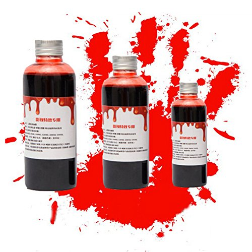 eeding Dummkopf Plasma Essbare Cosplay Makeup April Gel Day Film Props Party Horror Kostüm Spielzeug ()