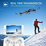 WIFI FPV Version DROCON Cyclone X708W Drone with HD Camera for Beginners Kids Training Quadcopter with Headless Mode One Key Return (X708W WIFI FPV VERSION)