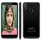 Cubot J3 Pro Smartphone 4g, 5.5 Pollici Android Go, Smartphone Dual Sim, Fingerprint Smartphone,MT6739 Quad Core 1.5GHz, 1GB RAM 16GB ROM, 13MP+2MP +5MP Fotocamera Cellulari- Nero