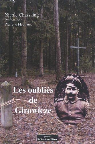 LES OUBLIES DE GIROWICZE