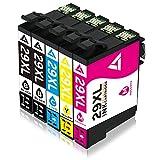 5-Packung für Epson 29 XL 29XL Kompatibel Druckerpatrone, Benutzen für Epson Expression Home XP-235 XP-245 XP-247 XP-330 XP-332 XP-335 XP-342 XP-345 XP-430 XP-432 XP-435 XP-442 XP-445 Drucker