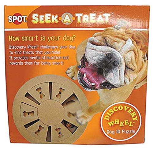 Ethical Pet Seek-a-Treat Discovery Rad Puzzle - Hund Puzzle Saw Jig