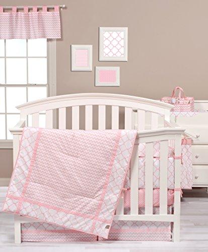 Trend Lab Pink Sky 3Stück Bettwäsche Set für Wiege (Kleinkind Bettwäsche Dots)