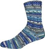 Sockenwolle 6-fädig SORT. 250 MERINO-COLOR Farbe 2234