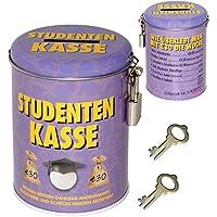 alles-meine.de GmbH Spardose - Studenten Kasse - mit 2 Schlüssel und Schloss - Stabile Sparbüc.. preisvergleich bei kinderzimmerdekopreise.eu