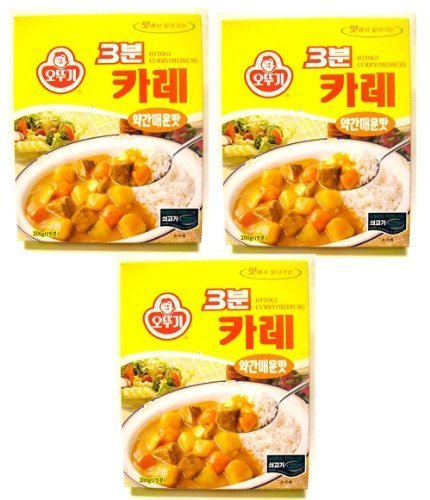 ottogi-3-minute-curry-medium-spicy-flavor-product-of-korea-67-oz-each-3-packs-by-n-a