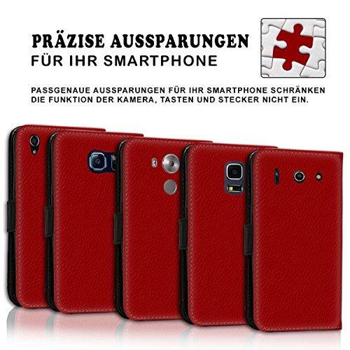 Wallet Book Style Flip Handy Tasche Case Schutz Hülle Schale Motiv Etui für Apple iPhone 6 / 6S - Variante UMV20 Design12 Design 8